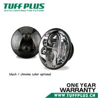 New design 7inch led round headlight for car, truck, suv, jeep, motorcycle