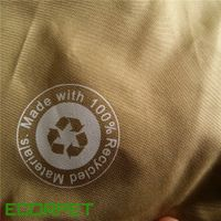 100% RPET Polyester Waterproof Fabric For Shopping Bag thumbnail image