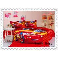 cartoon reactive printing bedding set, sheet set, 100% cotton thumbnail image