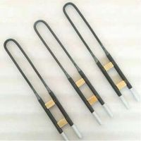 U I L W Type Molybdenum Mosi2 Heater Electric Furnace 1800C Heating Element, MoSi2 Heating Element thumbnail image