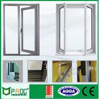 PNOC Best price custom new design impact resistant casement windows
