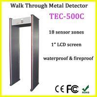 walk through metal detector for security TEC-500C walk through metal detector price