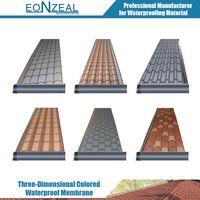 Three-Dimensional Colored Waterproof Membrane