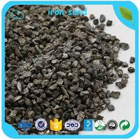 High Density Iron Sand 6.8-7.2 T/m3 Counterweight Iron Sand For Balance Weight