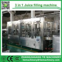 Carbonated juice filling line/water production line