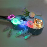 2*CR2032 colourful promotional led waterproof led christmas decoration lights
