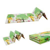 1cm thick XPE folding prayer mat gymnastic XPE folding play mat thumbnail image