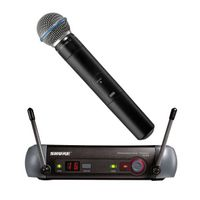 SHURE wireless microhpone(PGX24/BETA58A)