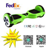 2016 New style electric hoverboard Two-wheel balancing scooter with remote free bag by fedex free sc