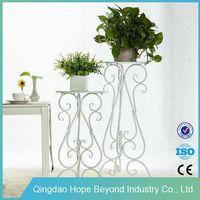 Balcony metal flower stand