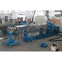 Twin screw extruder machine plastic recycling to make plastic granules