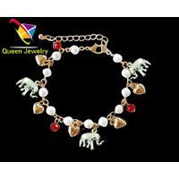 handmade jewelry trends 2018 Custom Wholesale Gemstone Charm Wrap Stone bead bracelets