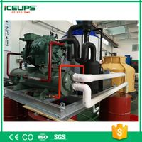 10tons Industrial Use Indoor/Outdoor ICE Maker with Water Cooling for Chicken Slaughter Plants