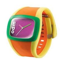 ODM Uncoordinated Watch (ISO9001: 2000/SGS Report/OEM Jelly Digital Spin Watch Colorful watch Jelly