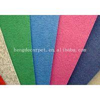 Nonwoven Plain Exhibition Carpets Description