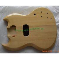 Basswood SG guitar body thumbnail image