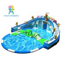 Cheap Price 0.9MM PVC Material Kids Inflatable Swimming Pool For Sale thumbnail image