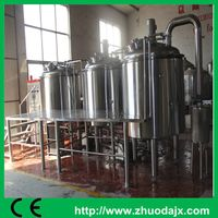 Stainless steel outer 1000L mash tun brewery system adopt argon gas protection welding thumbnail image