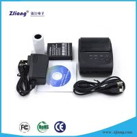 ZJ-5802 bluetooth iOS mobile bill printer , thermal printer price in india android