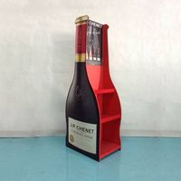 Wine Cardboard floor display stand