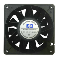 Manufacturers supply JDH12038B 12 - 24V Bitcoin mining machine cooling fan