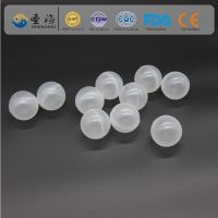 PE ( polyethylene ) 55mm hollow ball for chemical industry