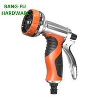 Most popular 9 functions mental hose nozzle for garden watering