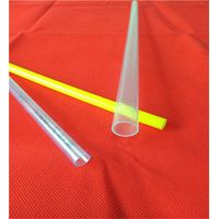 colorful plastic circular tube for packing with stopper