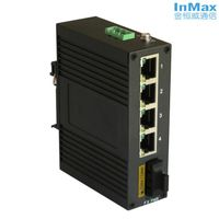 5 Ports Unmanaged Industrial Ethernet Switch with fiber port i305A