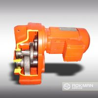 High Efficency F Series Parallel Shaft Helical Bevel Gearbox