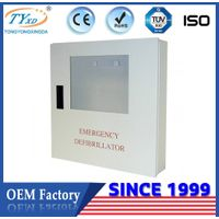 TY-E5 medical AED defibrillator cabinet for defibtech