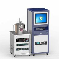 Single Rotary Sputtering Target RF Magnetron Sputter Coater for Solar Cell Research
