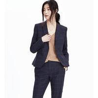 New Design Korean Slim Fit Casual Woman Suit