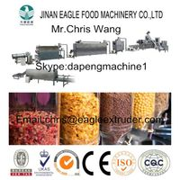 Corn flakes and cereal processing line