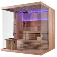 Luxury Cedar Wood Indoor Sauna Room