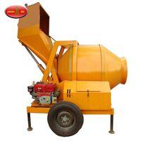 JZM series concrete mixer on construction site