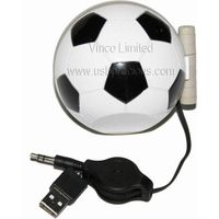 Portable USB Speaker Football Shape, PUS-Football