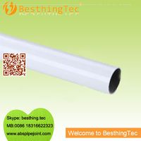 Plastic coated pipe for the lean industrial
