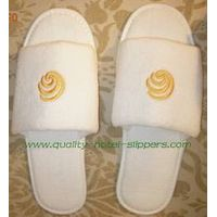 hotel velour slippers