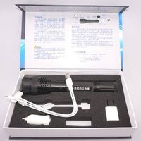 TW-C01 Self-defense Flashlight Torch High-power Impact Security Set