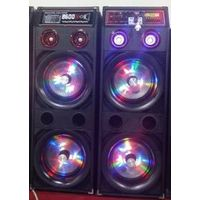 pa system double 10inch home speakers