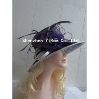YRSM14142 sinamay hat,church hat,kentucky derby hat thumbnail image