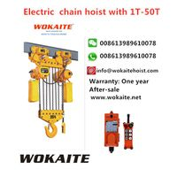 WOKAITE Electric chain hoist with25T