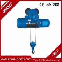 220V Single Speed Electric Wire Rope Hoist