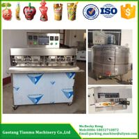 8head juice pouch filling and sealing machine