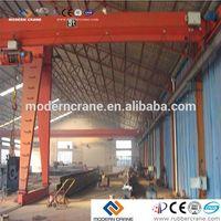 CE certificate 10t semi gantry crane