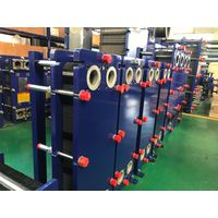 semi welded ALFA LAVAL plate heat exchanger refrigeration