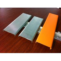 Wooden Coating Waterproof 1.0mm Building Material Aluminum Perforated Solid Panels thumbnail image