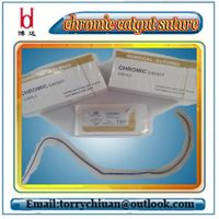 Boda Brown Color or Green Colour Chromic Catgut Suture Stitching in Surgery Instestines Materials