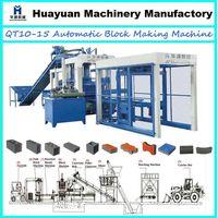QT10-15 full automatic hollow block making machine thumbnail image